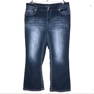 Maurice's Flap Pocket Bootcut Jeans